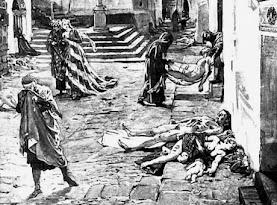 Η Λιτανεία για την επιδημία χολέρας στην Αθήνα το 1854