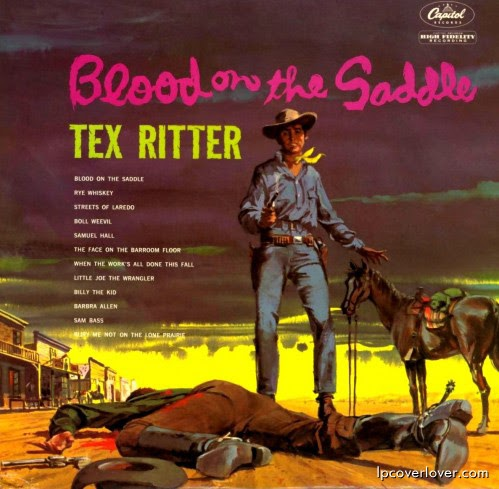 192 Music Tex Ritter Blood On The Saddle