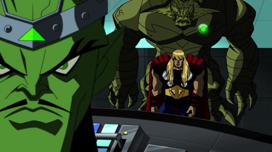 Newtcave recap avengers emh gamma world part 2 for Farcical part of speech