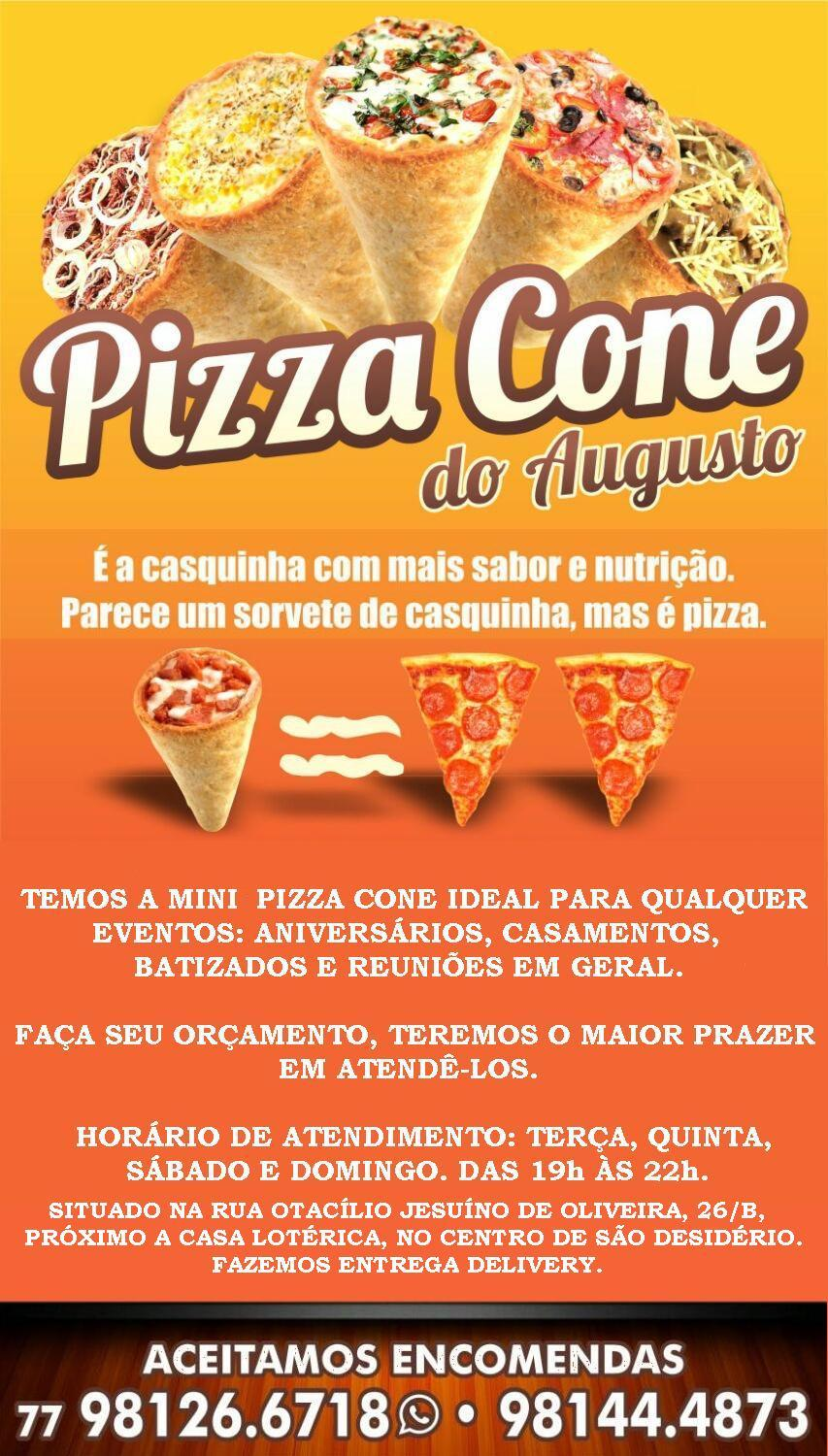 PIZZA CONE DO AUGUSTO