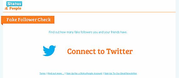 "Aplicatia ""Fakers"", dezvoltata de StatusPeople, iti spune cati followers sunt falsi"
