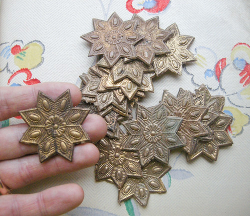 vintage dresden stars c1900 sold for 4200 on ebay - Cardboard Christmas Decorations