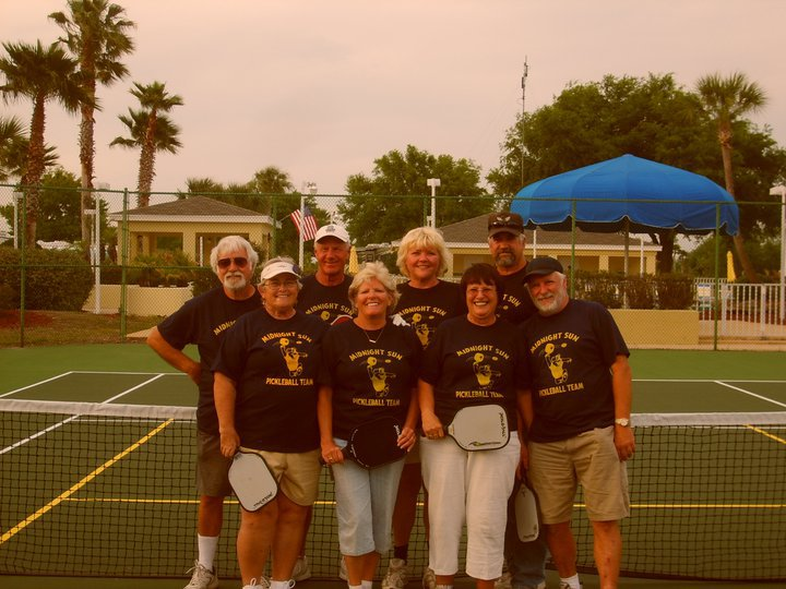 Midnight Sun Pickleball Team