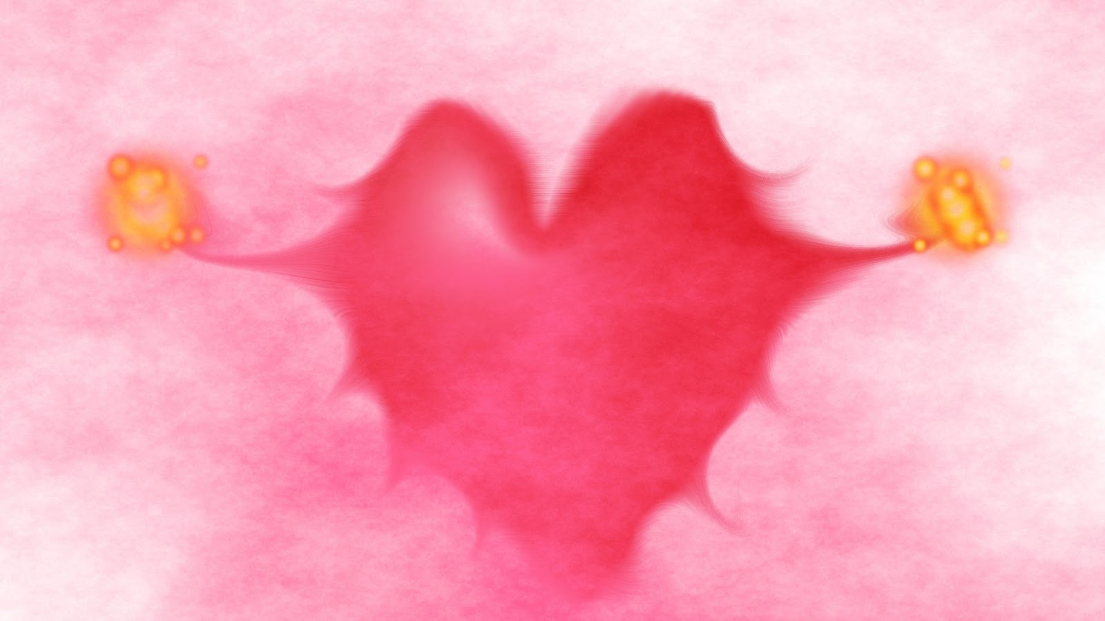 Love With Heart 1920x1080 Wallpaper