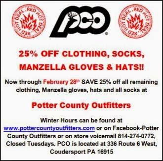 PCO Specials Thru February 28th