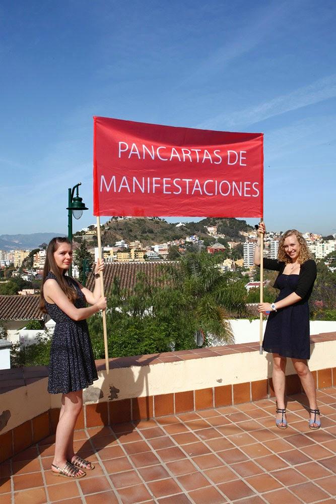 banderas manifestaciones