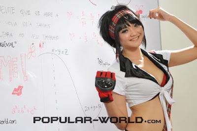 Nevilia Angelica for Popular World BFN, July 2012