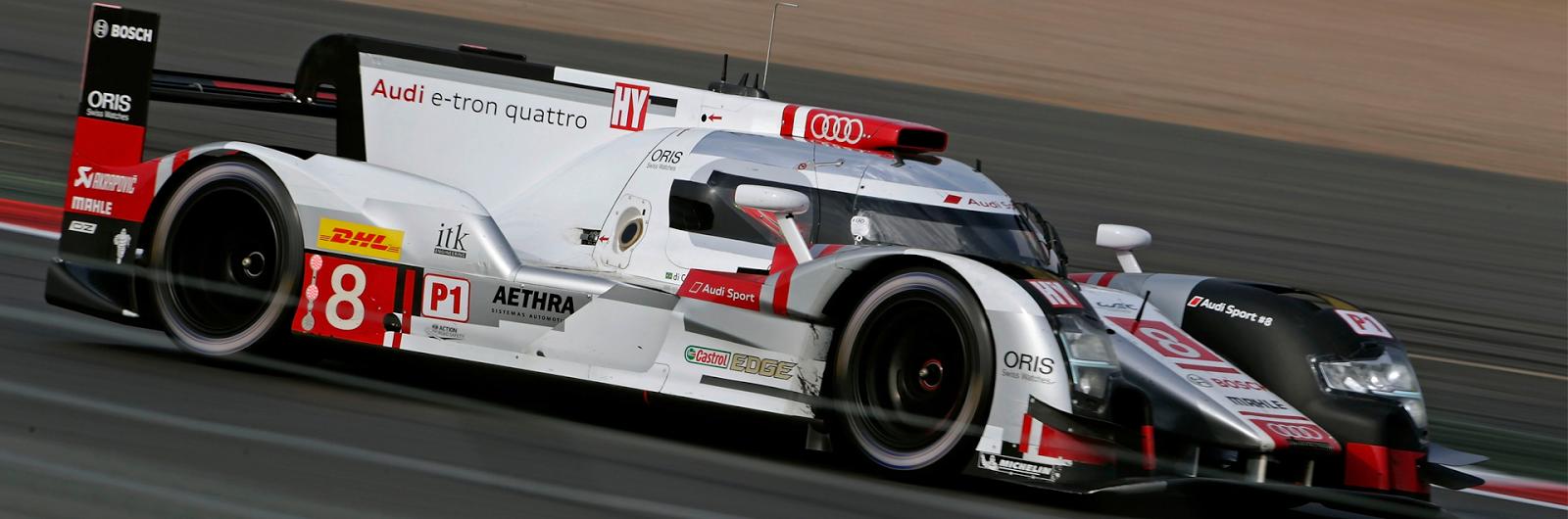 Audi R18 e-tron quattro wygrywa WEC 6h Silverstone