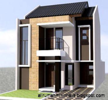 rumah type 45 2 lantai 1  Cara Mendesain Rumah