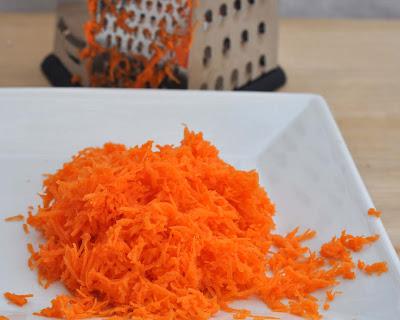 Julienne Carrots In Carrot Cake