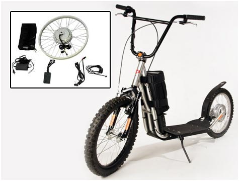 mini electric scooter picture of the mini electric scooter. Black Bedroom Furniture Sets. Home Design Ideas