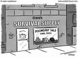 Supply for Dooms Day Very Funny Humor Cartoon Jokes
