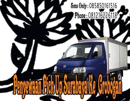 Penyewaan Pick Up Surabaya Ke Grobongan
