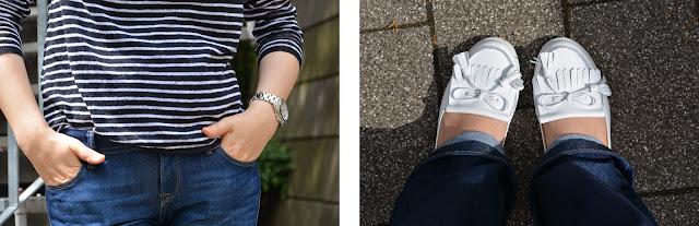 Stripes pattern, fashion blogger, fashion magazine