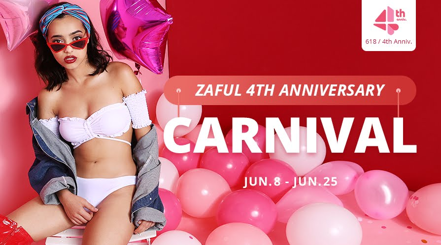 Zaful Anniversary party// Click&shop