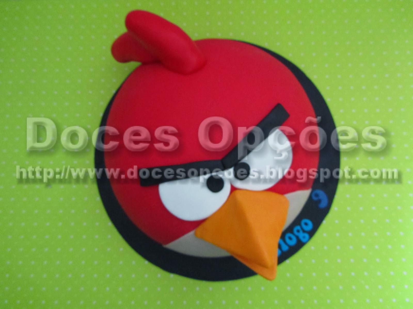 Bolo Angry Birds bragança