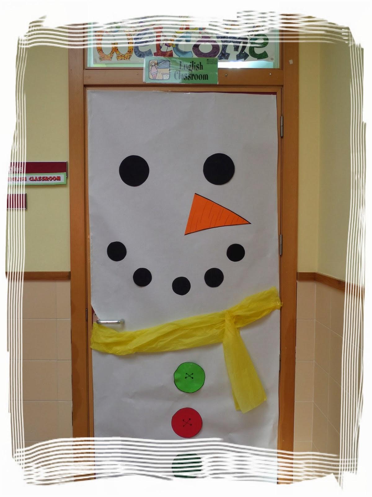 Esl Classroom Door Decoration : Follow me english classroom door