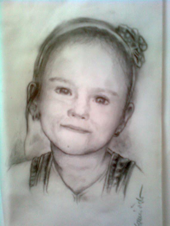 Portret dziewczynki.