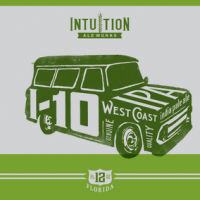 Intuition Ale Works West Coast IPA label
