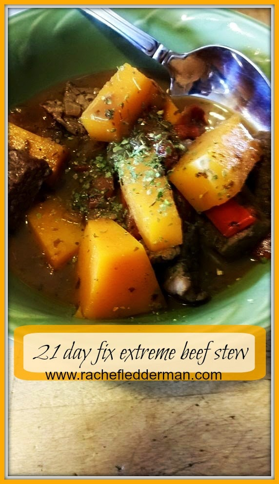 21 day fix extreme beef stew
