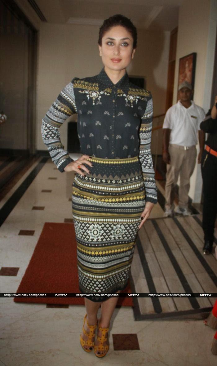 Kareena Kapoor in a designer Tarun Tahiliani outfit