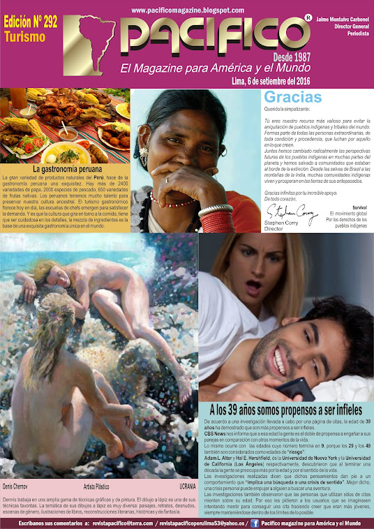 Revista Pacifico Nº 292 Turismo