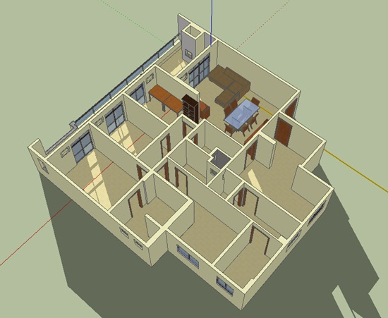 google sketchup mon opinion. Black Bedroom Furniture Sets. Home Design Ideas