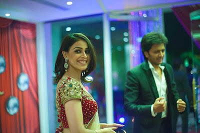 Genelia - Ritesh in Ceremony