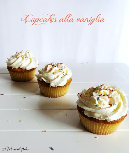 La Ricetta per i Cupcakes alla vaniglia