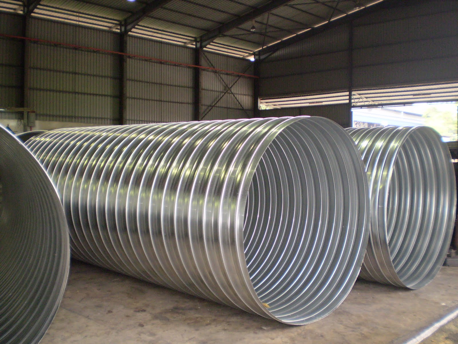 Solidfoam industries preinsulated pipes spiral round ducts