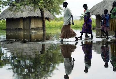 ÁFRICA - Epidemias, penúria e fortes inundações estão flagelando o continente