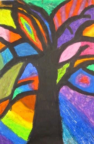 Art is Basic Art Teacher Blog Abstract Trees Inspired