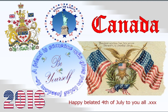Happy belated 4th of July 2016 page
