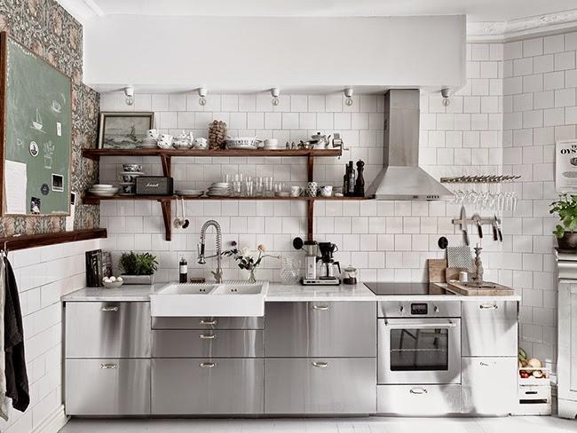 Mash-up di stili in una casa nordica - Home Shabby Home  Arredamento ...