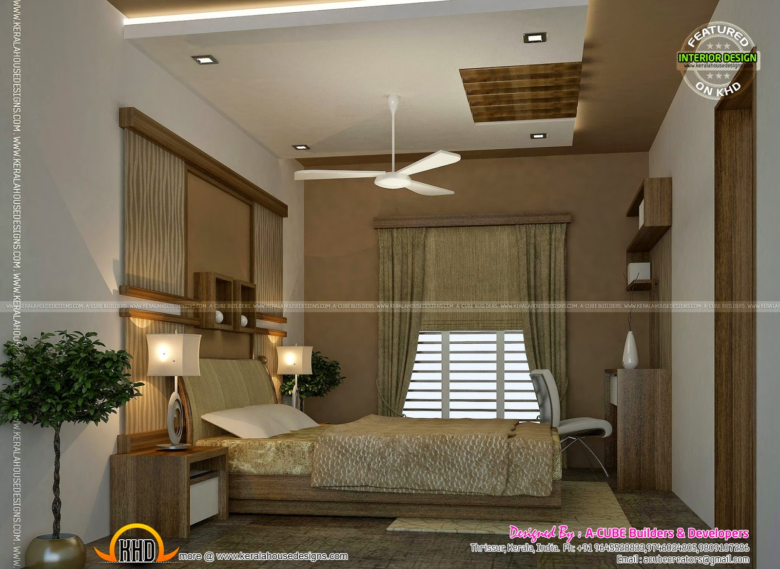 Kerala interior design ideas kerala home design and for Kerala homes interior designs