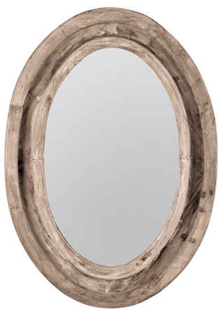 Loft cottage affordable rustic wood mirrors mirrors like this oval one from wisteria it seems to me theyve been a lot more expensive in the past and from other retailers restorations is 295 altavistaventures Images