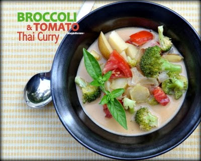 Broccoli & Tomato Thai Curry