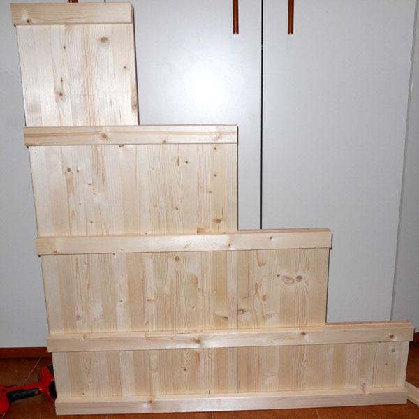 Stedeg blog costruire una scala a gradini per letto a - Costruire letto a soppalco ...