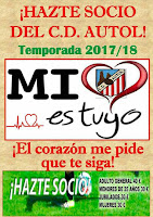 HAZTE SOCIO DEL C.D. AUTOL