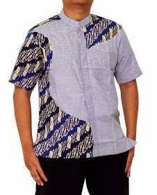 Kombinasi baju batik unik dengan desain terbaru