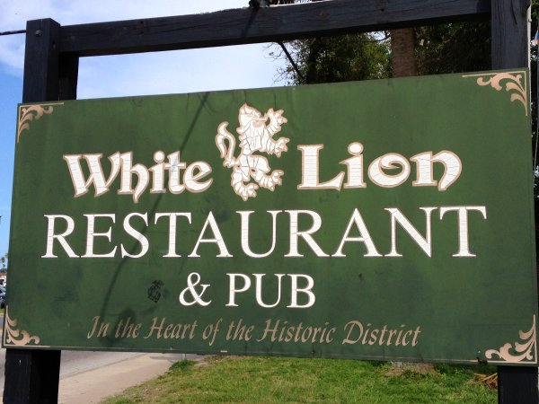 Restaurante White Lion Saint Augustine