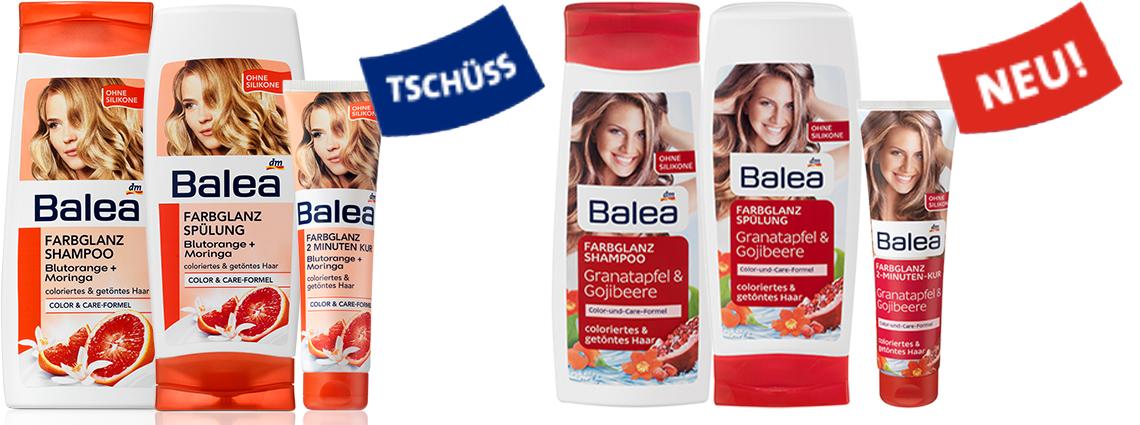 Neues von Balea - Haarpflege - www.annitschkablog.de