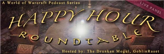 http://www.thedrunkenmogul.com/category/happy-hour-roundtable/
