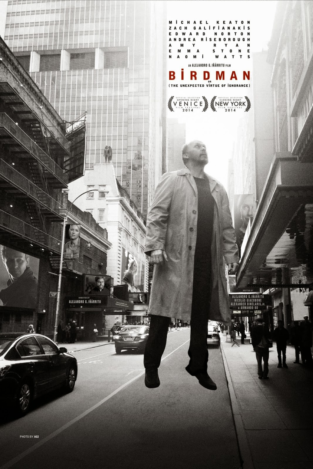 MOVIE REVIEW BIRDMAN or The Unexpected Virtue of Ignorance 2014