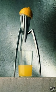 ALESSI - Juicy Salif, Citrus-squeezer (PSJS) NEW