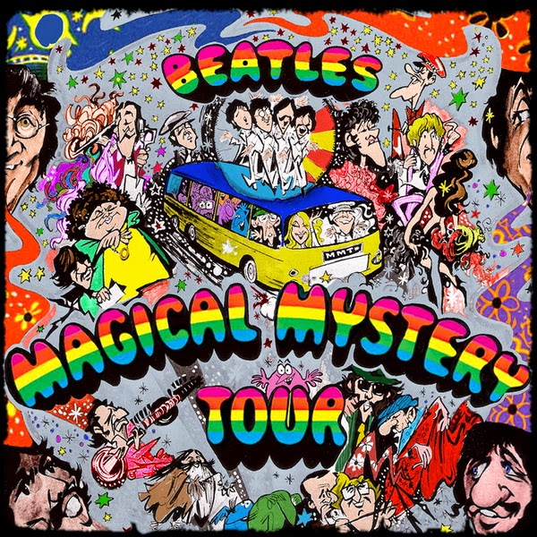 The Beatles - Magical Mystery Tour 1967 ... Sub Spanish ... 53 minutos
