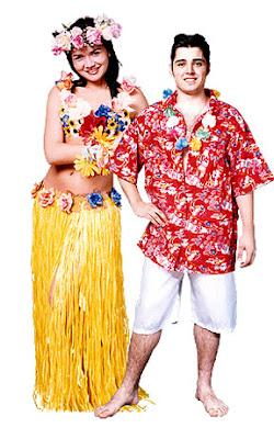 Fantasias de Carnaval Masculino havaiano