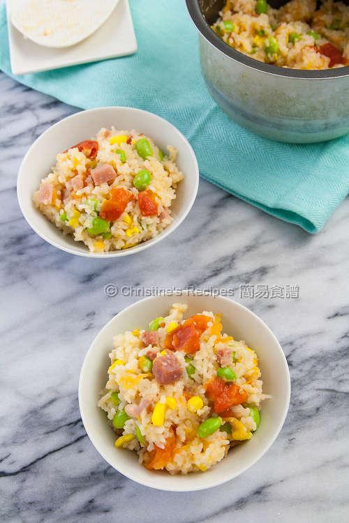 整個番茄飯 Rice with Whole Tomato03