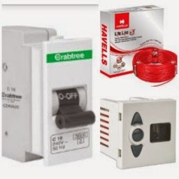 Amazon: Buy Havells Electricals products at 50% Off or more
