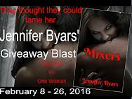 Jennifer Byars MIXERS Blast & Giveaway